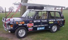 Range Rover Trans Americas Expedition