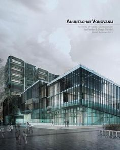 Architecture Portfolio -Vongvanij - good portfolio