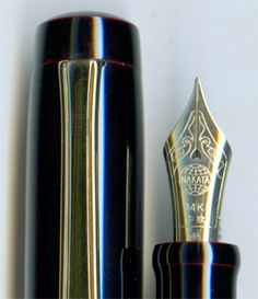 Nakaya Neo Standard Kuro-tamenuri (black red) Fountain Pen #Nakaya #FountainPens