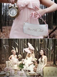 alice and wonderland photo shoot | Alice in Wonderland Wedding Ideas Thursday, October 25, 2012 ~ 7:50 a ...