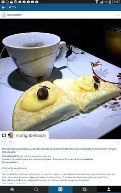 Dica de Juh Manguabeira pro mousse de maracujá: omelete de 3 claras de ovos + 1…