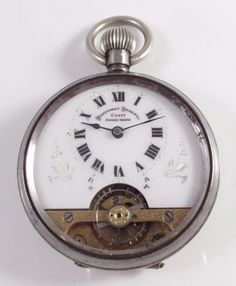 ac0fff02b Antique Hebdomas Patent 8-day Swiss Made Pocket Watch c.1900 Visit us on