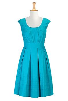 Chelsea dress STYLE # CL0025853 $69.95  Color: Turquoise