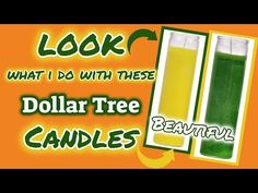 Diy Crafts For Gifts, Homemade Crafts, Diy Craft Projects, Crafts To Make, Craft Ideas, Decor Crafts, Diy Ideas, Dollar Tree Candles, Dollar Tree Decor
