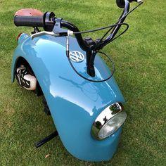 Mini Motorbike, Mini Bike, Bicycle Engine, Small Motorcycles, Toy Garage, Motorised Bike, Vw Cars, Vw Beetles, Go Kart