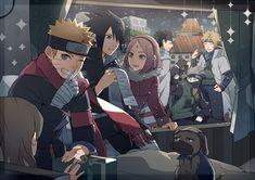 Tags: Fanart, NARUTO, Haruno Sakura, Uzumaki Naruto, Uchiha Sasuke, Hatake Kakashi, Pixiv, Namikaze Minato, Uchiha Obito, Pakkun, PNG Conversion, Fanart From Pixiv, Kiragera, Naruto The Movie: The Last