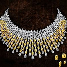 Stunning #whitediamond#canarydiamond #necklace by The House of Rose. @thejewellcloset