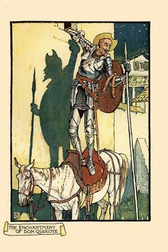 Walter Crane -Don Quixote