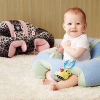 For our newest addition to the family. Gives great soft support and won't tip over like the plastic chairs.