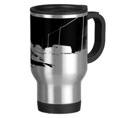 Ground View Of Rail Road Tracks - negative Mugs    •   This design is available on t-shirts, hats, mugs, buttons, key chains and much more    •   Please check out our others designs and products