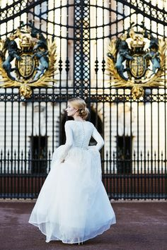 Chana Marelus Evening Wear - gorgeous long sleeve wedding dress