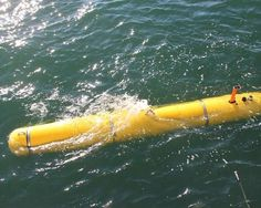 An AUV is a robot that is used underwater without the need to be controlled by a person on a ship.