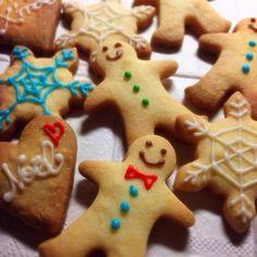 今年も作りましたクリスマスクッキー(^O^) - 12件のもぐもぐ - アイシングクッキー by しょうこ