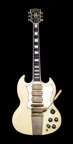 Jimi Hendrix | '67 Gibson SG Custom. I need me some triple humbucking goodness!