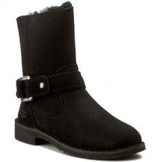 Botine UGG - W Cedric 1012360 W/Blk Uggs, Biker, Boots, Fashion, Crotch Boots, Moda, Fashion Styles, Shoe Boot, Fasion
