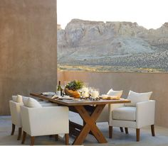 "Ralph Lauren Home Archives, ""Desert Modern"" Dining Room, 2012; ""Inspired by the vast beauty of the Western frontier"""