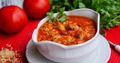 Blog kulinarny. Ciasta, torty i proste obiady. Zapraszam Soup Recipes, Cooking Recipes, Recipies, European Dishes, Cabbage Roll Soup, Polish Recipes, Polish Food, Recipes From Heaven, Soups And Stews