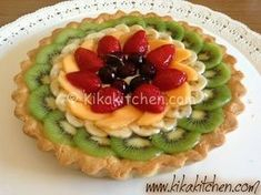 Tart Recipes, Cooking Recipes, Cooking Tips, Fruit Decoration For Party, My Favorite Food, Favorite Recipes, Jamaican Recipes, Fruit Tart, Food Crafts