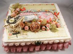 altered box  | ... to share with you my first altered cigar box it was so much fun