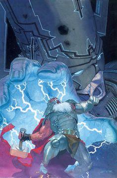 Thor: God of Thunder No. Thor, Galactus Marvel Comics Poster - 30 x 46 cm Ms Marvel, Marvel Comic Universe, Marvel Comics Art, Comics Universe, Marvel Heroes, Comic Book Characters, Marvel Characters, Comic Books Art, Arte Nerd
