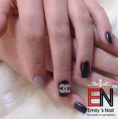 CC schwarz glitzer Rings For Men, Nails, Beauty, Jewelry, Black, Finger Nails, Men Rings, Jewlery, Ongles