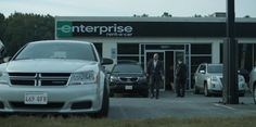 Dodge Avenger (2011), Kia Sorento and GMC Terrain (2010) cars and Enterprise Rent-A-Car office in HOUSE OF CARDS: CHAPTER 2 (2013) @dodgeofficial @kiamotorsusa #GMC #EnterpriseRentACar