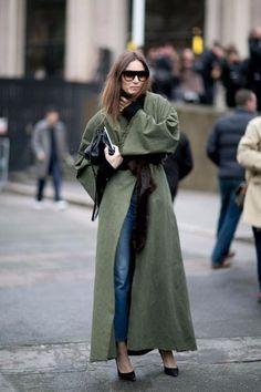 Look! Зеленые оттенки в верхней одежде! 2
