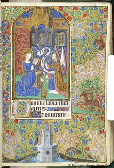 Book of Hours, MS M.1093 fol. 24r - Images from Medieval and Renaissance Manuscripts - The Morgan Library & Museum