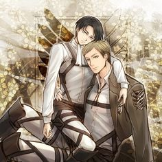 Shingeki no Kyojin - Irvin Smith  Rivaille