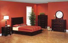 Amish dark bedroom set