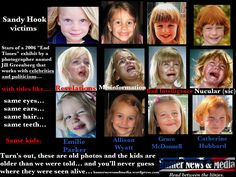 Were the Sandy Hook victims really in the news in 2006?