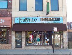 Buffalo Exchange,   Wicker Park  1478 N. Milwaukee Ave.  Near Damen stop on CTA Blue Line