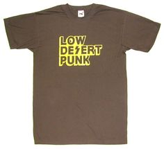 "BRANT BJORK ""Low Desert Punk"" T-Shirt BROWN"