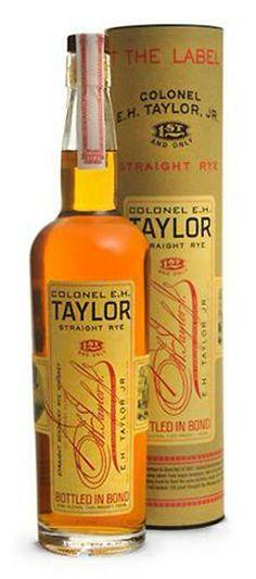 E.H. Taylor Rye Whiskey made by Buffalo Trace Distillery