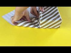 基本の斜め包みの方法 - YouTube