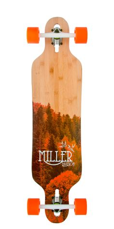 """Physis Bambú, Drop through, 38"""" Freestyle Series http://millerdivision.com/productos/79-physis"""