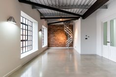 Riflemaker is a pre-war building, once the home to some of Birmingham's original gunsmiths. It was converted in 2014 into six through-floor loft apartments. Reuse Recycle, City Living, Birmingham, Industrial Design, Repurposed, Gun, Loft, Flooring, History