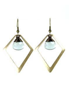 Blue Thidia Earrings - JewelMint