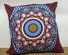 Bunt, Tapestry, Throw Pillows, Grad, Home Decor, Mandalas, Pillow Fight, Sew Pillows, Oilcloth
