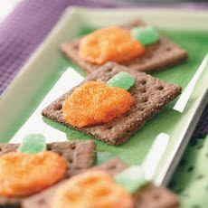 Pretzel Pumpkin Grahams Recipe