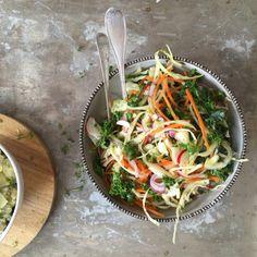 Frisk og sprø kålsalat