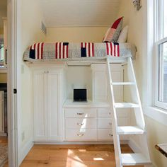 Dual Purpose - Small Bedroom Ideas - 10 Tiny Bedrooms with Big Style - Bob Vila