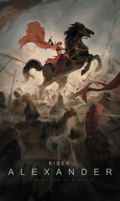 Little alexander the great Fate Quotes, Scathach Fate, Son Of Zeus, Fate Characters, Character Art, Character Concept, Fate Servants, Fate Anime Series, Digital Painting Tutorials