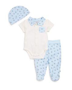Absorba Infant Boys' Bodysuit, Pants & Hat Set - Sizes 0-9 Months