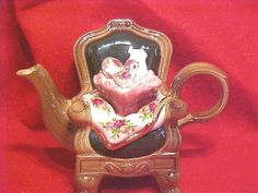 Royal Albert OLD COUNTRY ROSES Teapot Cardew England