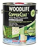 Protect and preserve below-ground outdoor wood with Rust-Oleum Wolman WOODLIFE COPPERCOAT This unique formula contains an insecticide and nearly double the fungicide of standard sealers or stains It's paintable and stainable. Deck Stain And Sealer, Wood Sealer, Wood Stain, Termite Damage, Termite Control, Best Deck Stain, Landscape Timbers, Cool Deck, Green Coat