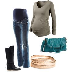 Maternity Style for a winter due date @ http://MotherhoodCloset.com for under $37