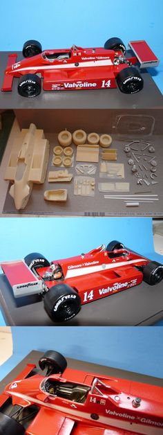 1//25TH SCALE 1970/'S F5000//F1 RESIN RIMS /& TIRES CART 1 SET INDY RESIN USAC