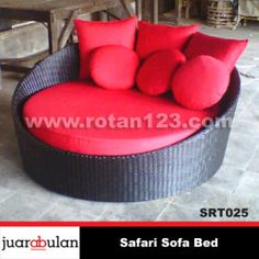 Safari Sofa Rotan Sintetis SRT025