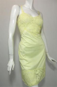 White Nylon Lace Trim Full Slip Vanity Fair Size 40-32 Inches Long To Prevent And Cure Diseases